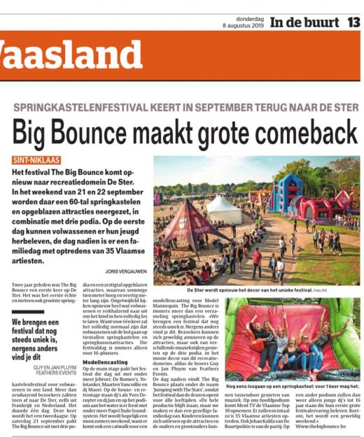 HLN over The Big Bounce 2019